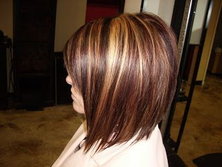 Astounding Red Blonde Highlights Dark Brown And Highlights On Pinterest Short Hairstyles Gunalazisus