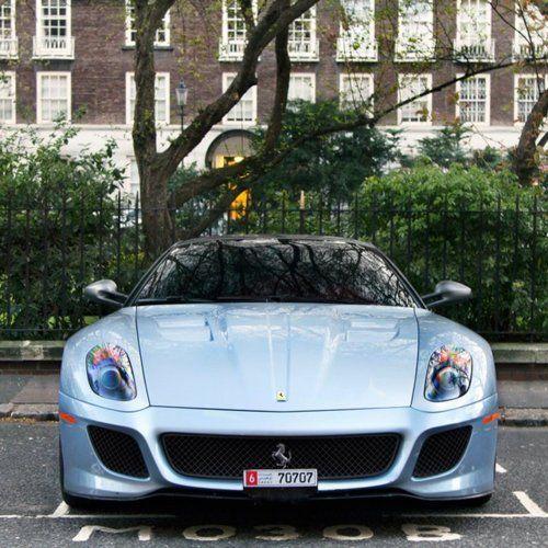 lkhk: Dream Cars, Nice Rides, 599 Ferrari, Blue Ferrari