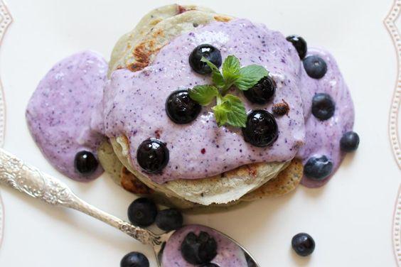 Rezept-Lindarella-Fitnessblogger-Foodblogger-Blueberry-Pancakes-Breakfast-