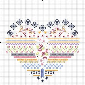 free heart chart, scroll down page
