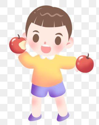 فتى يأكل تفاحة تفاحة حمراء فاكهة تفاحة لذيذة فتى يأكل تفاحة الولد تفاحة لذيذة Png وملف Psd للتحميل مجانا Art Sketches Hello Kitty Sketches