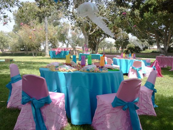 Little mermaid ariel party ideas and decorations kids for Ariel birthday party decoration ideas