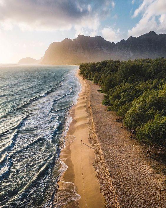 NATURE | PHOTOGRAPHY sur Instagram: Hawaii sunrises🤩 - - 📷- @braybraywoowoo . - - #earthpics #earthpix #naturephotography #pagearth #nature #vally #forest #photography…