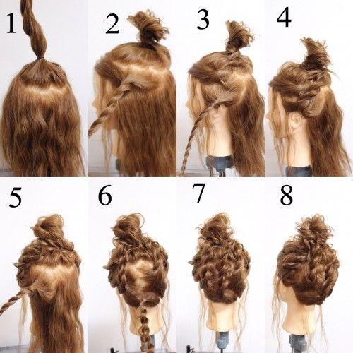 ヘアアレンジは簡単アップのまとめ髪で ロングやミディアムのやり方