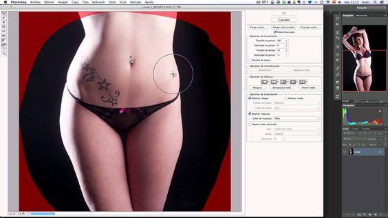 Tutorial Photoshop Filtro Licuar