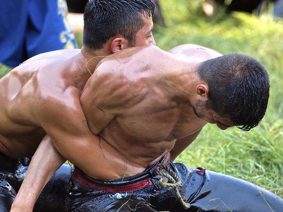 Turkish oil wrestling (Yağlı güreş)