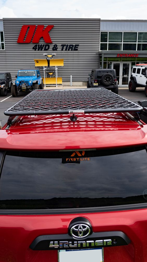 Arb Flat Roof Rack For Toyota 4runner Roof Rack Flat Roof Roof Top Tent