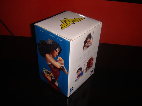 Wonder Woman Bust Box