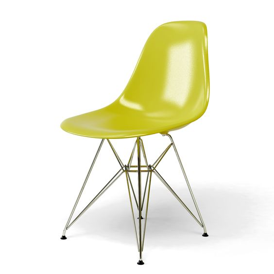 Chaise bascule eames jaune 20171020123935 for Chaise eames jaune moutarde