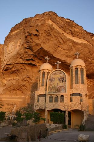 Saint Catherine Monastyry, commonly known as Santa Katerina. Located at the Sinai Peninsula, at the foot of Mount Sinai.  EGYPT.