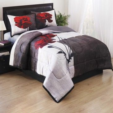 Poppy 4 Piece forter Set Bedding