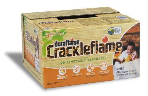 Duraflame 4637 6-Pack Crackleflame Fi... $19.98 #topseller