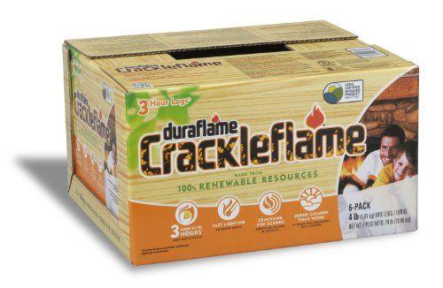 Duraflame 4637 6-Pack Crackleflame Fi... $19.98 #topseller