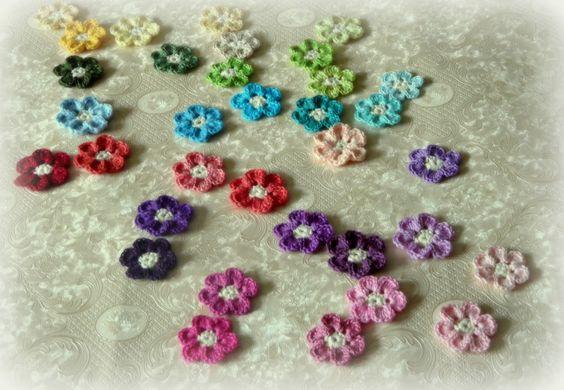 Die Häkel Eule - Häkeln und Stricken: Bunte Häkelblümchen