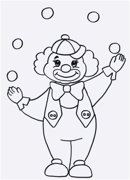 99 Neu Clown Zum Ausmalen Galerie Ausmalen Fur Kinder Clown Basteln Ausmalbilder