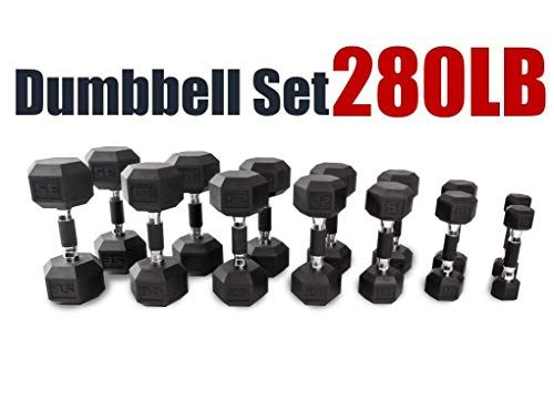 Reviewed Cap Barbell 150 280 590 Lb Pvc Coated Hex Dumbbell Pairs