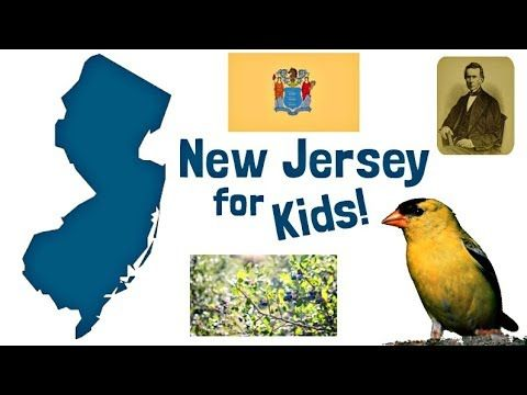 New Jersey Facts For Kids Us States Learning Youtube Video