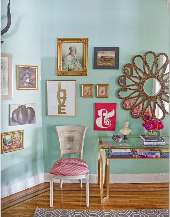 espejos paredes vestidas paredes decoradas cuadros su propio propria casa estilos utilizar decoracion tienda casa amour