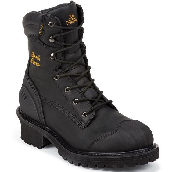 Black Double H Boots