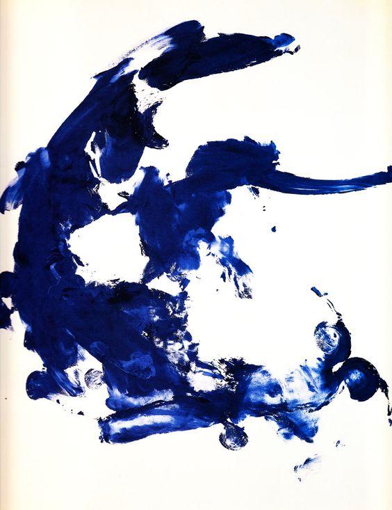 Yves Klein. #Indigo: