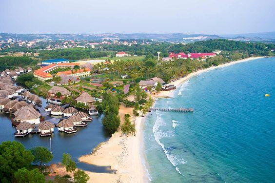 Sihanoukville - phố biển đẹp nhất Campuchia