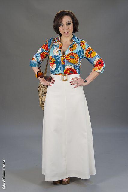 Maria do Carmo Mendonça (Ana Nave) - moda de Luanda dos anos 70