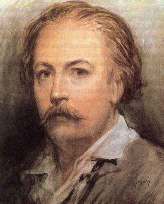 Autorretrato de Paul Gustave Doré (1832–1883) Artista francés, grabador, escultor e ilustrador.