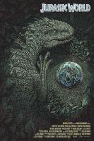 Jurassic World poster by jbballaran