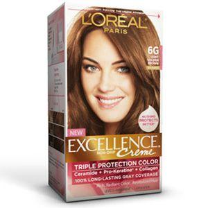 Excellence® Creme 6G Light Golden Brown - L'Oreal Paris