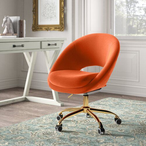 Beckley Mid Century Writing Desk In 2020 Task Chair Chair Furniture