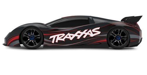 Tomtop Traxxas Xo 1 1 7 Scale Awd Supercar With Tqi 2 4ghz Radio Tsm Black Super Cars Traxxas Awd