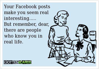 #FacebookvsReality.