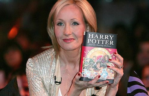 BREAKING J.K. Rowling NEWS! News from the industry vine this morning is that J.K. Rowling has officially signed a book deal and will soon be releasing her highly anticipated next book.    No word yet on title, plot, or publication date, but word is that the book's target audience will be adults.    Read what she says in the press release: www.booktrade.inf... o-o