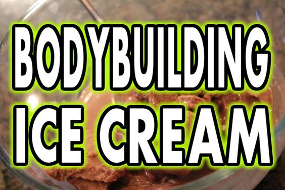 ★ HIGH-PROTEIN BODYBUILDING CHOCOLATE ICE CREAM
