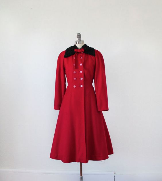 Coats Persian and Red coats on Pinterest