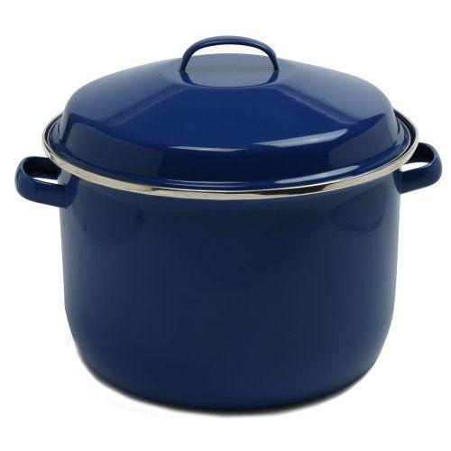 Norpro 18 Quart Porcelain Enamel Canning Pot by Norpro, http://www.amazon.com/dp/B0039NNTYY/ref=cm_sw_r_pi_dp_Yg38rb183Q7S4  $42.64
