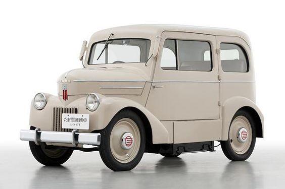 1947 Nissan Tama EV (Electric Vehicle) - motoblitz 1