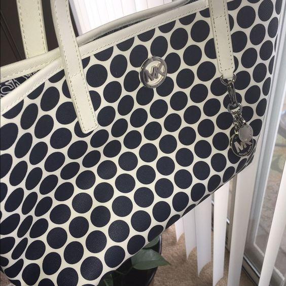 This MK IS AUTHENTIC selling as a set handbag Handbag along with cosmetics bag selling as a set Michael Kors Bags Shoulder Bags