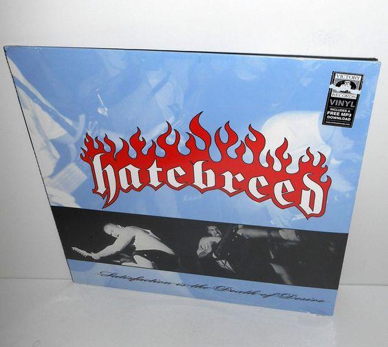 HATEBREED satisfaction is the death of desire Lp Record Vinyl #hardcore
