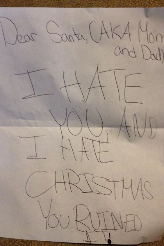 funny kids letters to santa