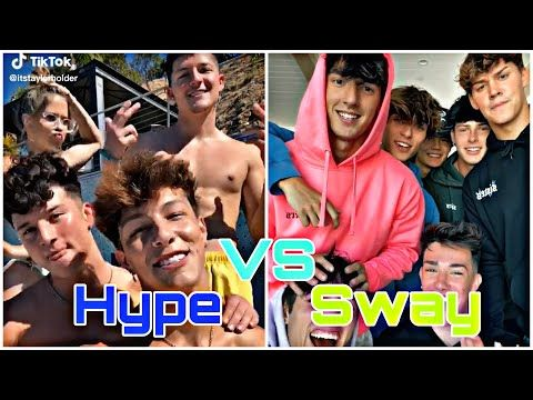 Hype House Vs Sway House Tiktok Compilation 2020 Youtube Hype Youtube Cat Clothes