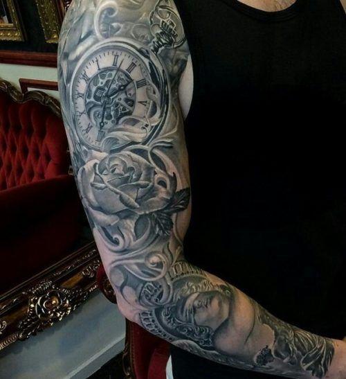De 200 Fotos De Tatuajes En El Brazo Para Hombres Tatuajes De Mangas Para Hombres Brazos Tatuados Media Manga Tatuaje