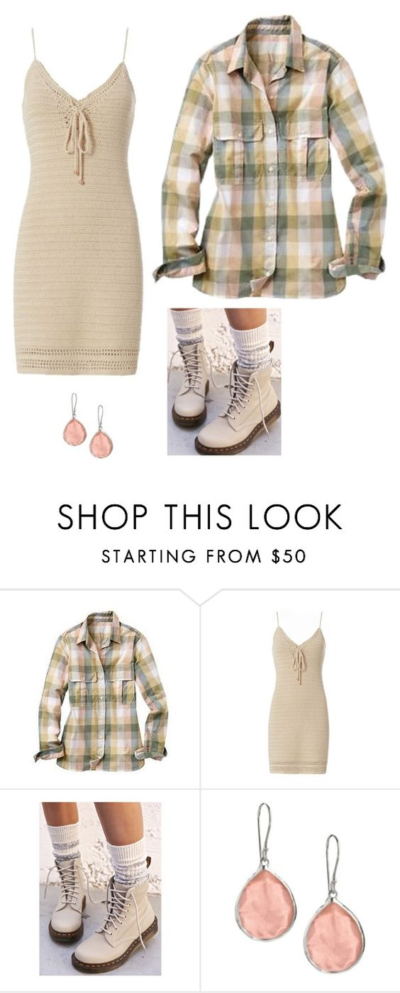 """Comfort"" by empresslal ❤ liked on Polyvore featuring Gap, Exclusive for Intermix, Dr. Martens and Ippolita"