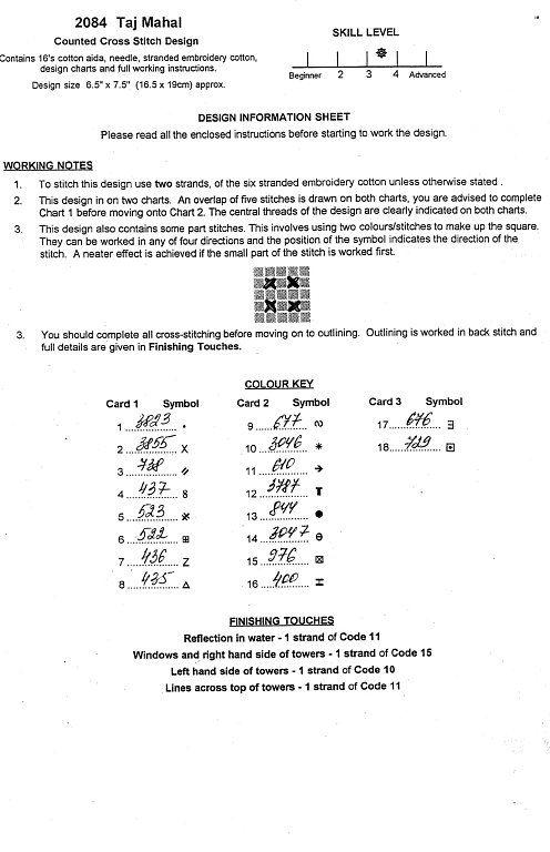 Solo Patrones Punto Cruz (pág. 477) | Aprender manualidades es facilisimo.com