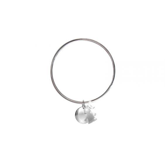 Bracelet jonc collection Lilirose by Leny&Romeo.