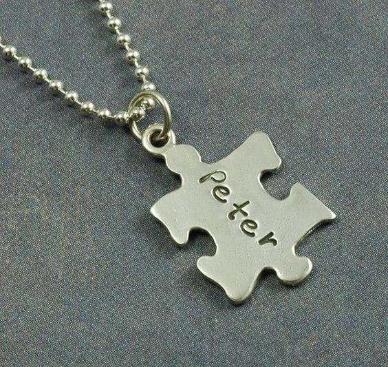 great necklace for autism awareness