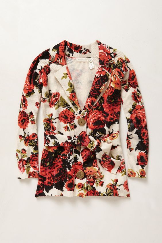 Archival Collection: Rose Sweater - Anthropologie.com: