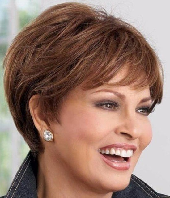 Stylezco Short Hair Styles For Round Faces Short Hair Styles Hair Styles For Women Over 50