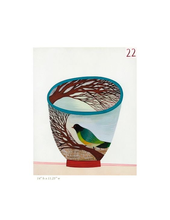 AnneSmith.net - 100 Cups: Cages Birds, Birds Stuffs, Cups Anne, Animals And Birds, Anne Smith, Cups Illustrations, Cups Tea Party, Annesmith Net