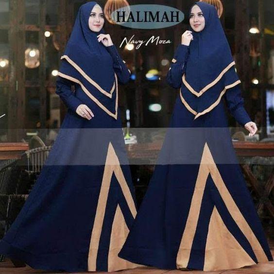 Warna Kerudung Yang Cocok Untuk Baju Biru Dongker